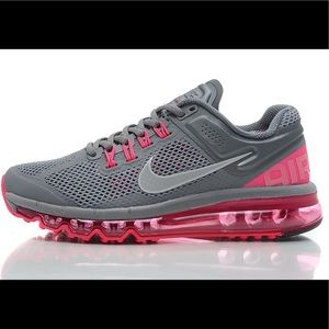 NIKE Women's Air Max Cool Gray and Pink Size 9